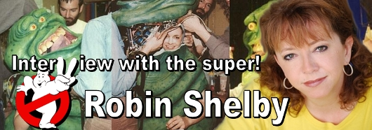 "GB2: Intervista a super Robin Shelby ""Slimer!"""