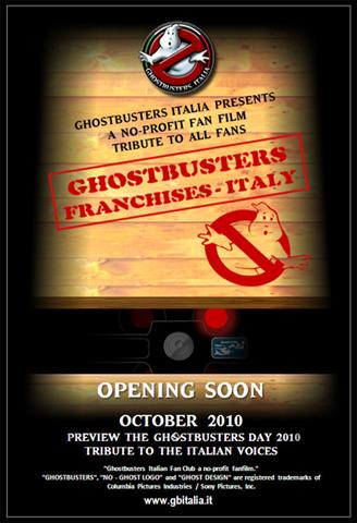 Prossimamente il fan film di Ghostbusters Italia!