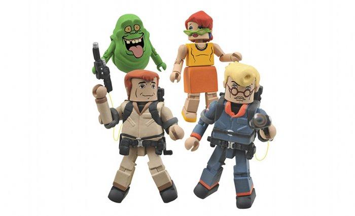 Primo sguardo ai Real Ghostbusters MiniMates