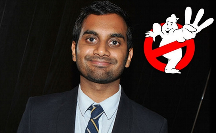 Anche Aziz Ansari in Ghostbusters 3?