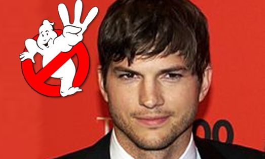 Ashton Kutcher in Ghostbusters 3?