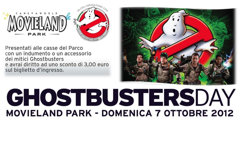 """Scheda """"Ghostbusters Day 2012"""" al Movieland Park"""