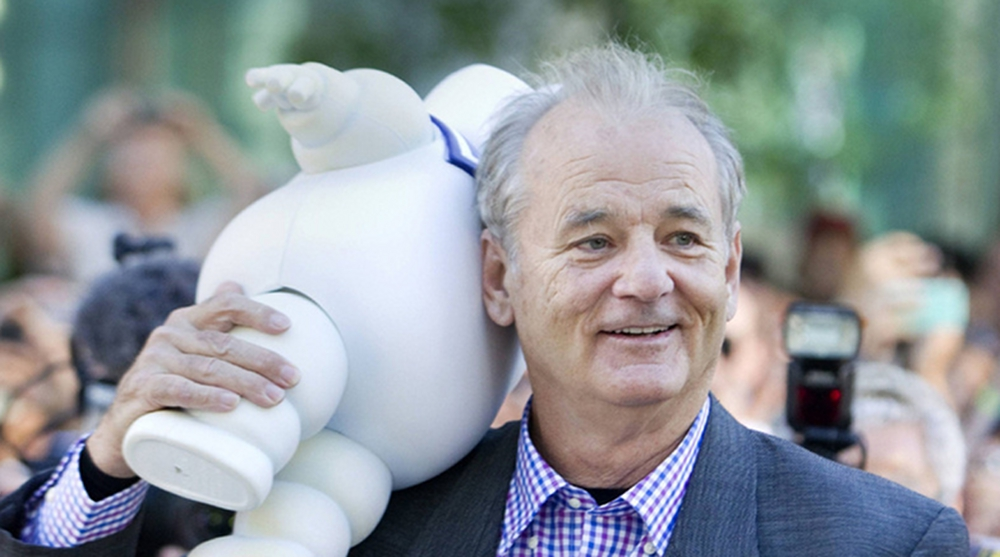 GB3: Bill Murray al Tiff 2012 con lo Stay Puft