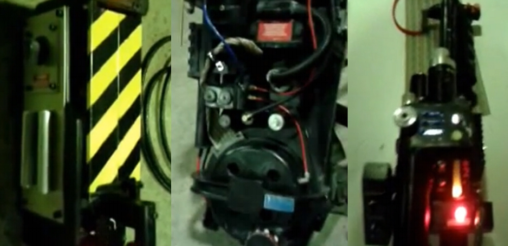 Props: Proton Pack e Ghost trap by Mattb1