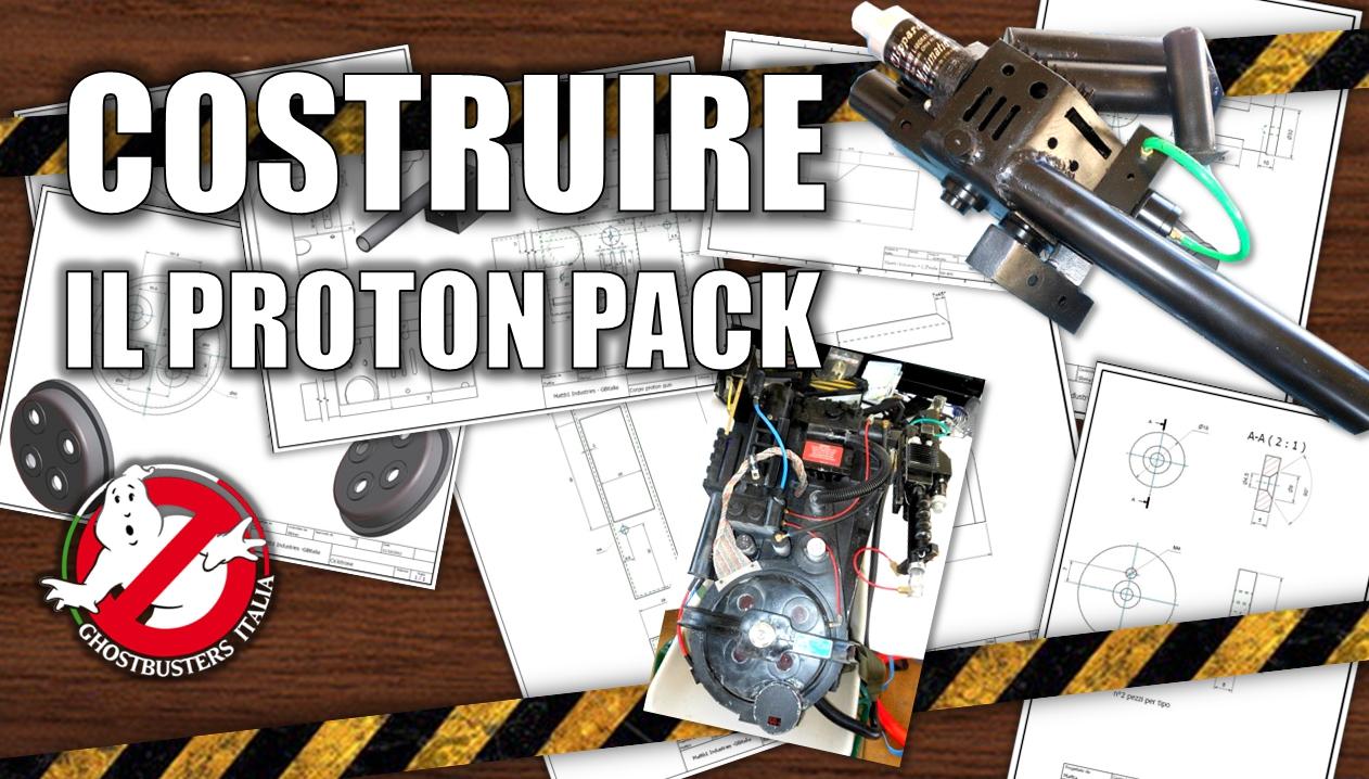 Proton Pack: Primi schemi con misure originali by mattb1