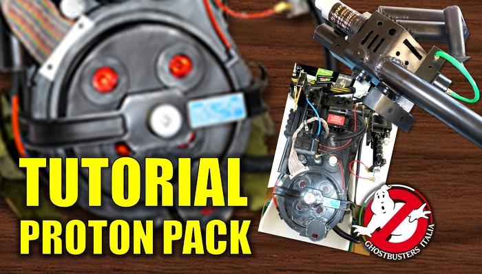 Inizia il tutorial online per costruire il Proton Pack