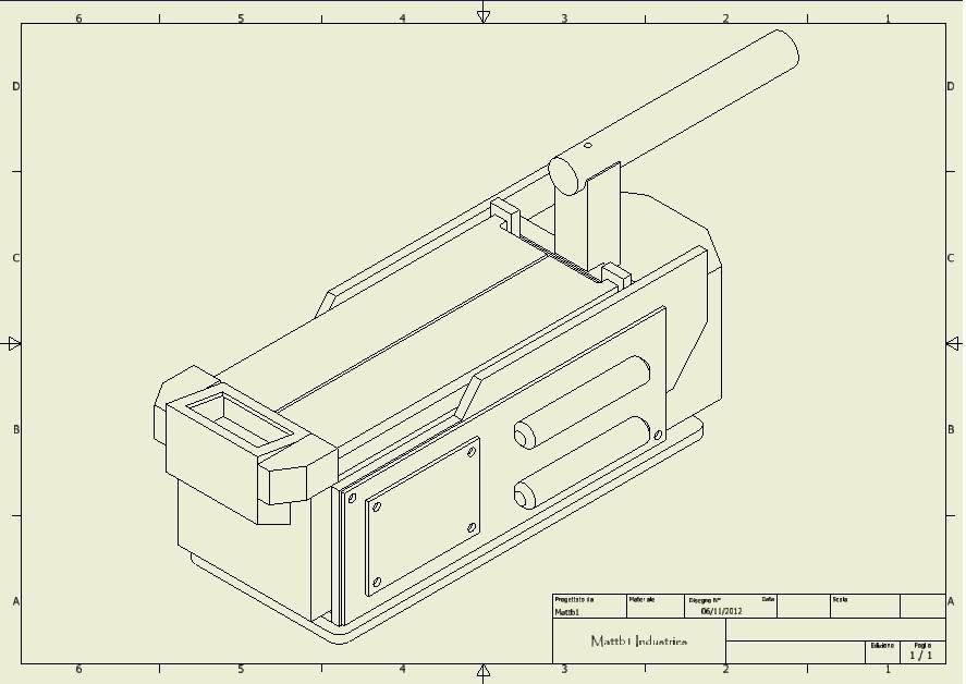 Ghost trap piani di costruzione ghostbusters italia for Come disegnare piani di costruzione