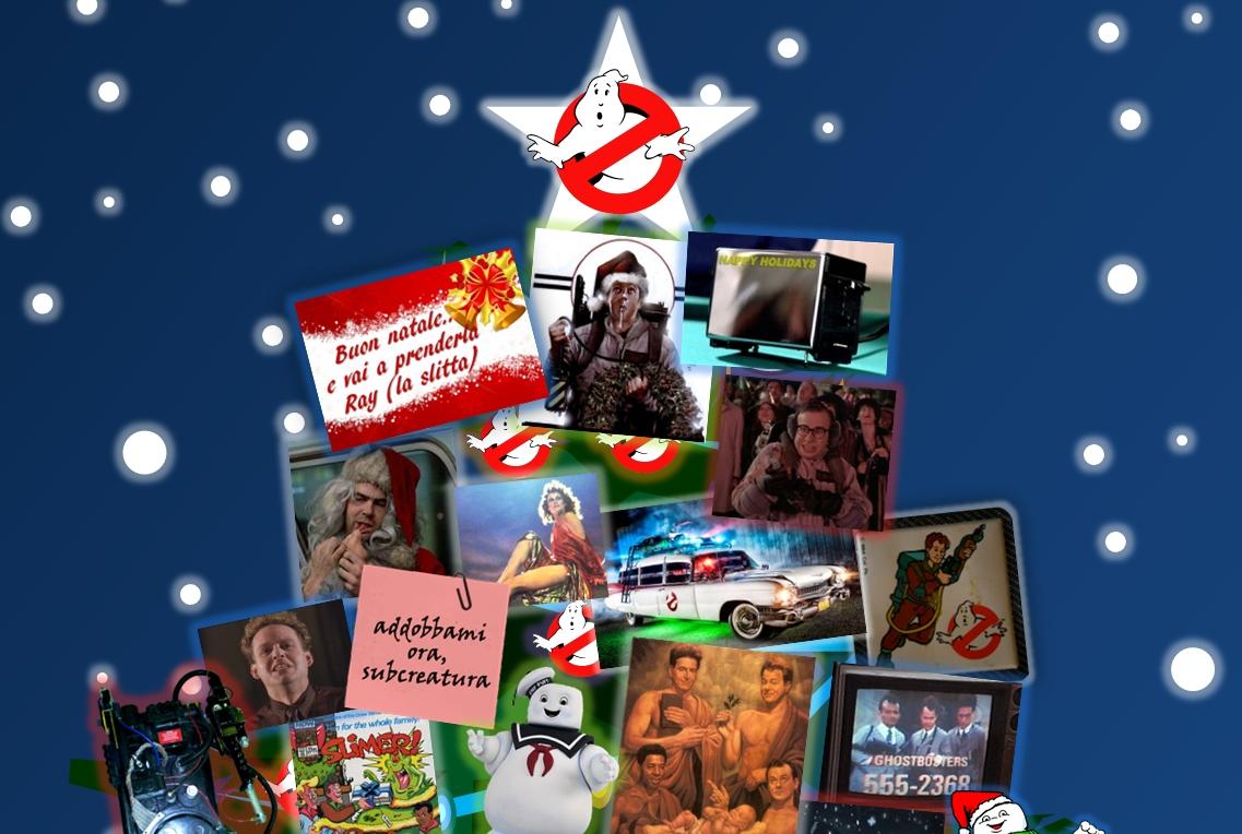 Buon Natale a tutti i fans di Ghostbusters