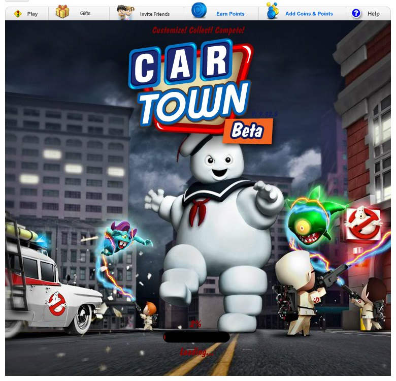 Tutorial per giocare a Ghostbustes con Car Town by Fedebar