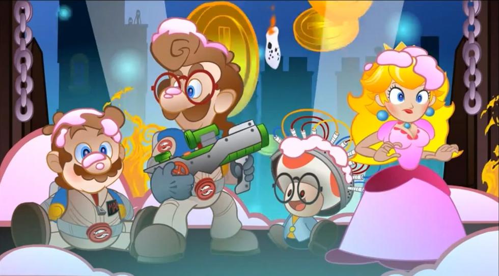 """Fantastico video """"Super Mario Busters"""""""