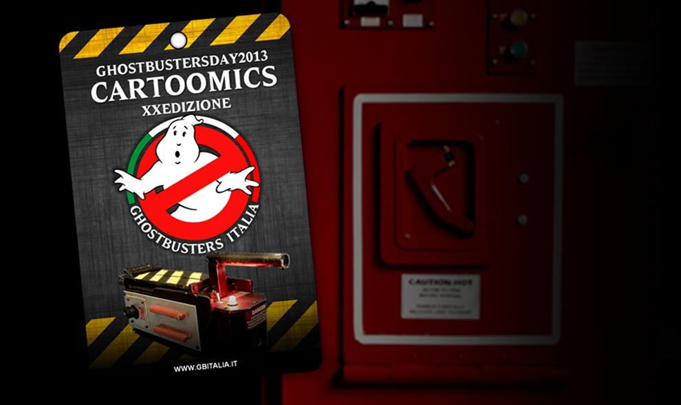 Ghostbusters Italia per la prima volta a Cartoomics!