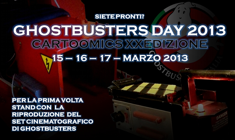 15 – 16 – 17 marzo 2013 – GBDay al Cartoomics XXEdizione – Milano