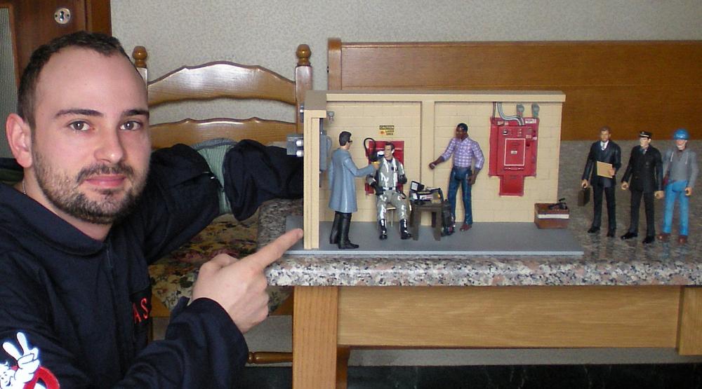 Spettacolare diorama con suoni e luci by GBPasin