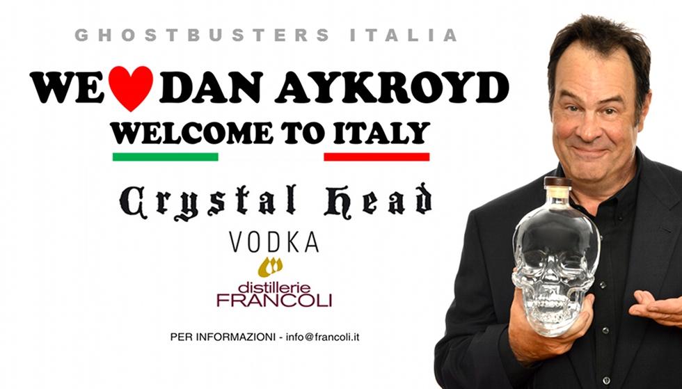 Dan Aykroyd benvenuto in Italia!