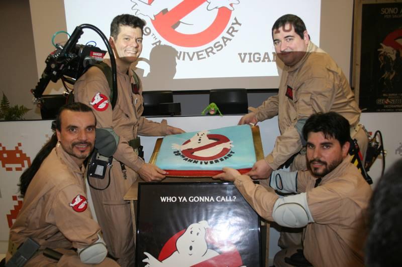 Foto storia: 29° anniversario Ghostbusters al VIGAMUS a Roma