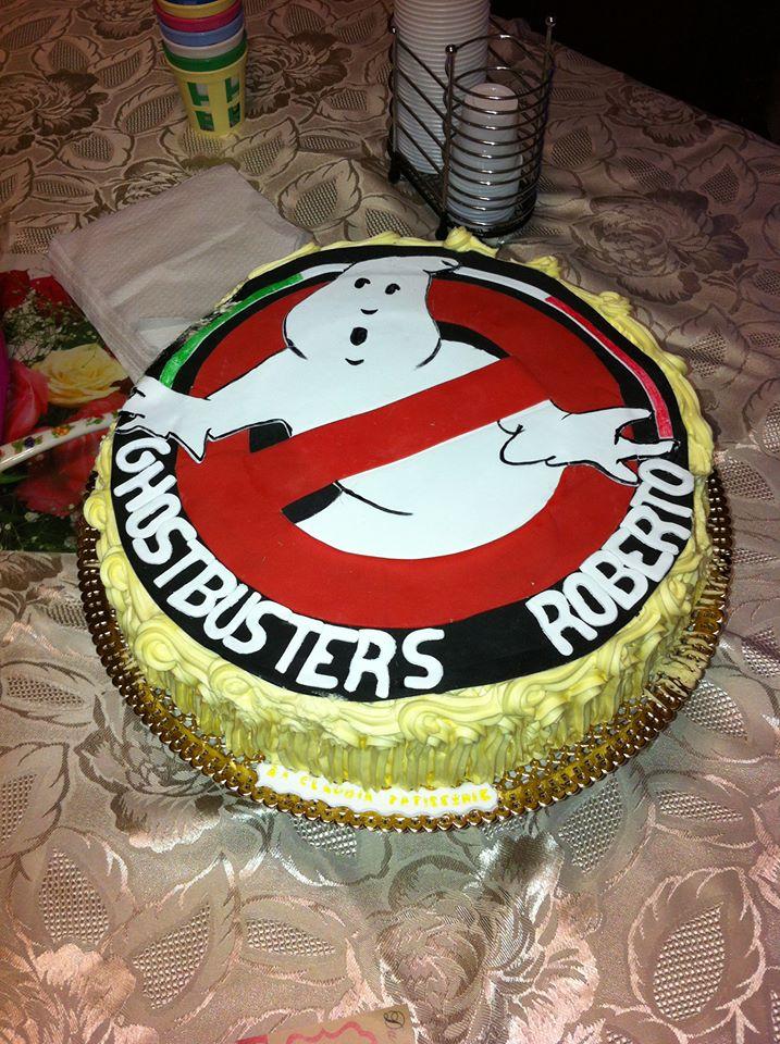 Torta Ghostbusters per Roberto!