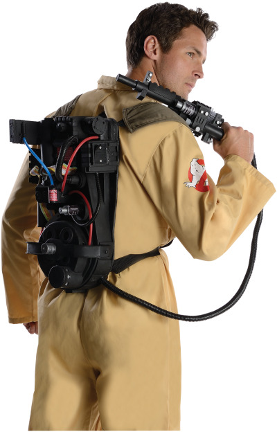 Costumi per Halloween 2013: Rubie's realizza mini Proton Pack