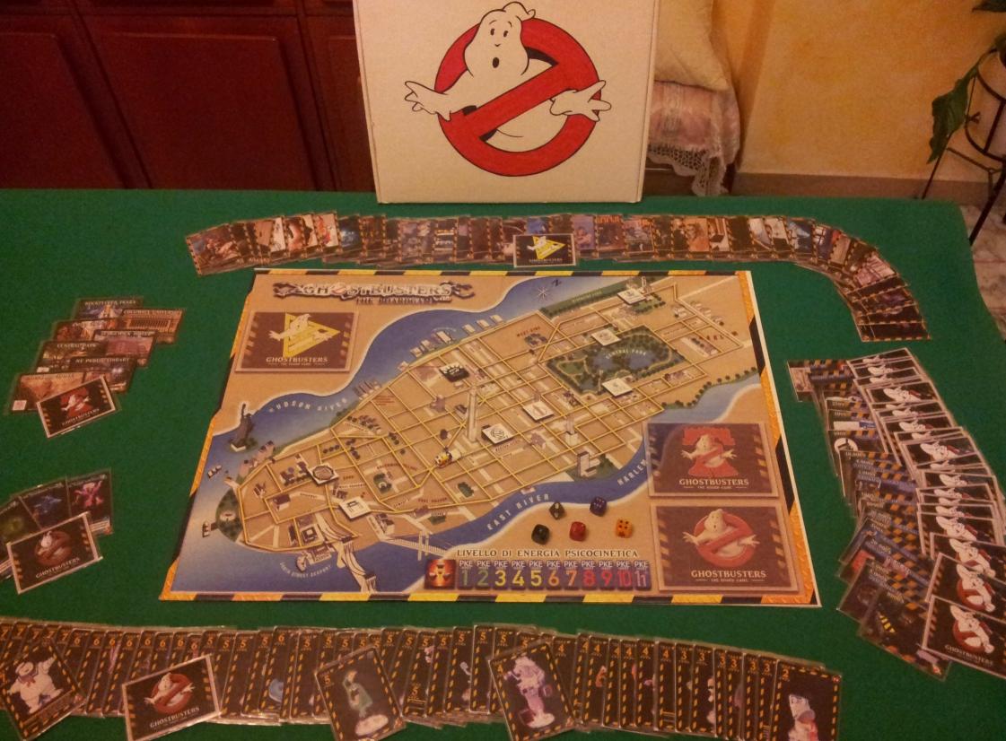 """Fan Art: """"Ghostbusters the boardgame"""", il gioco da tavolo degli Acchiappafantasmi"""