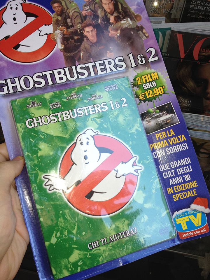 TV Sorrisi e Canzoni in edicola Ghostbusters 1 e 2 a 12,90!