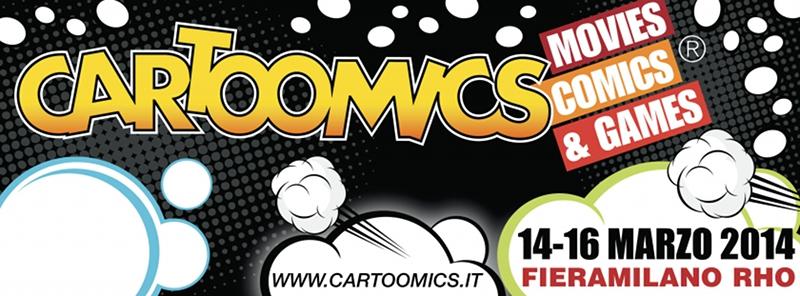 GBDay 2014 al Cartoomics 14 – 16 marzo (Milano)