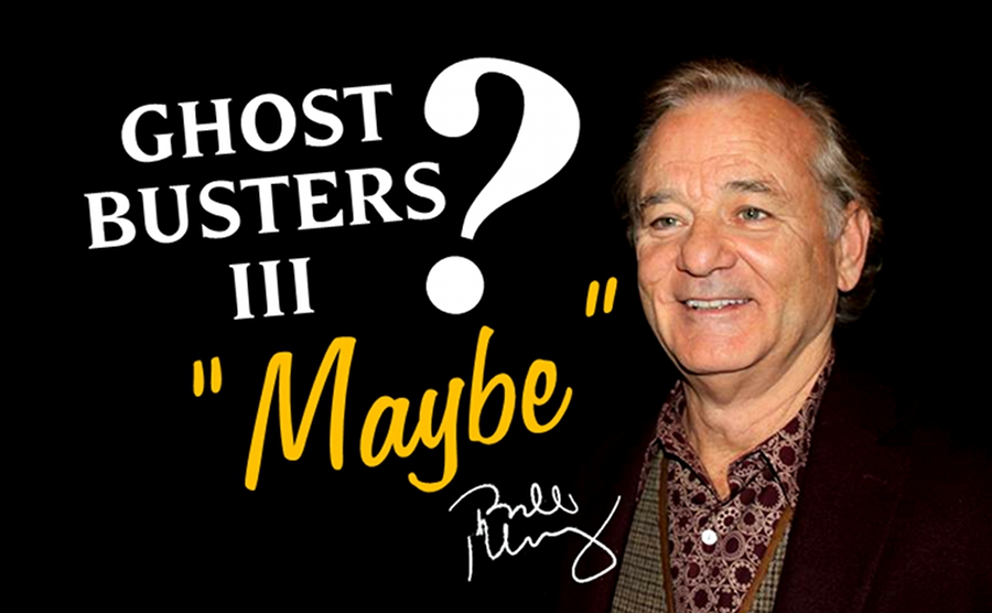 "GB3: Bill Murray ""forse faro Ghostbusters 3"""