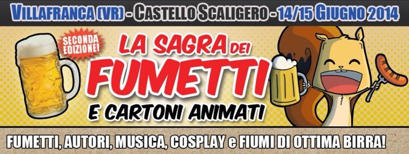 """14 – 15 giugno 2014 – Ghostbusters Italia alla """"Sagra dei fumetti e dei cartoni animati"""""""