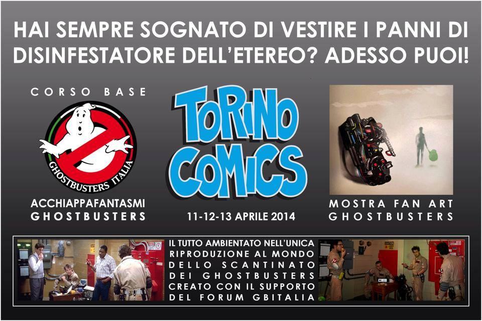 11 – 12 – 13 aprile 2014 Torino Comics