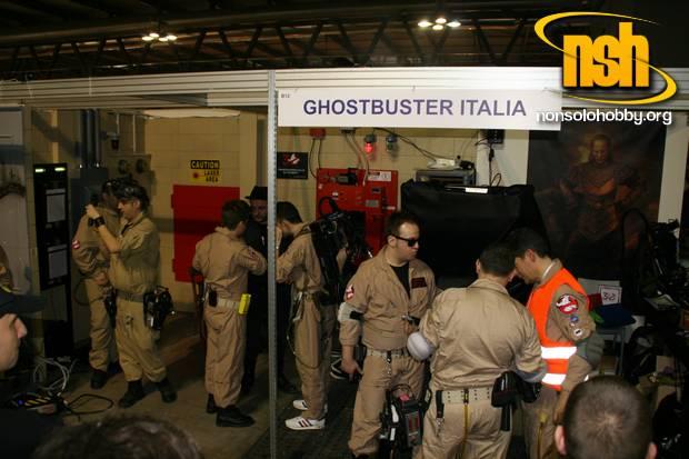 Nonsolohobby: Cartoomics 2014: Lo stand di Ghostbusters Italia