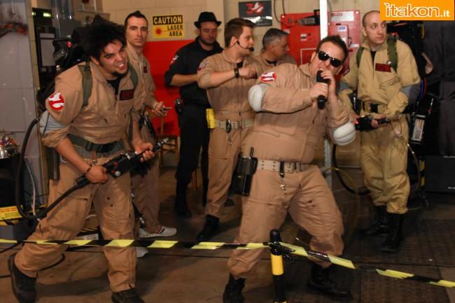 "Itakon: ""Cartoomics 2014: lo stand Ghostbusters Italia"""
