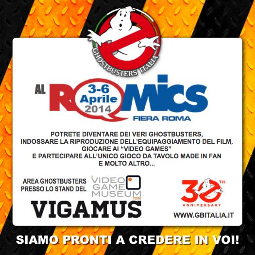 Romics 3 – 6 aprile 2014