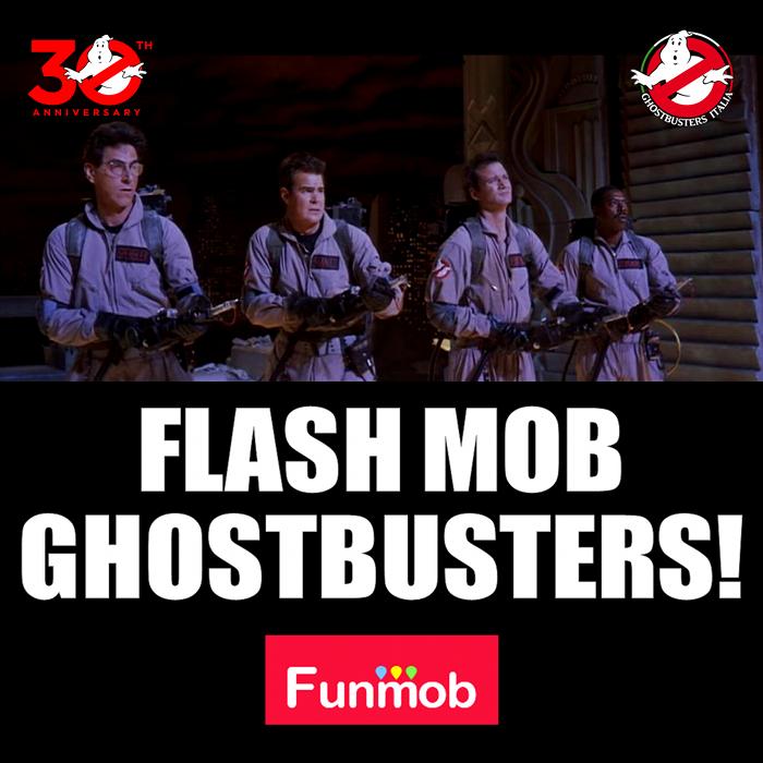 Flash mob Ghostbusters! 29 maggio 2014 a Milano