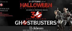 31 ottobre a Milano – 11 clubroom: Halloween Official Party dedicato al 30° anniversario di Ghostbusters!