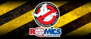 Ghostbusters Italia al Romics 2015: il Programma