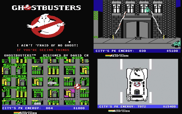 Commodore 64 - Ghostbusters