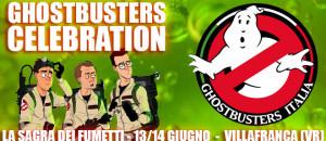 Ghostbusters Italia alla Sagra dei Fumetti a Villafranca (Verona) 13/14 giugno