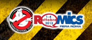 ARRIVANO I GHOSTBUSTERS AL ROMICS 2015