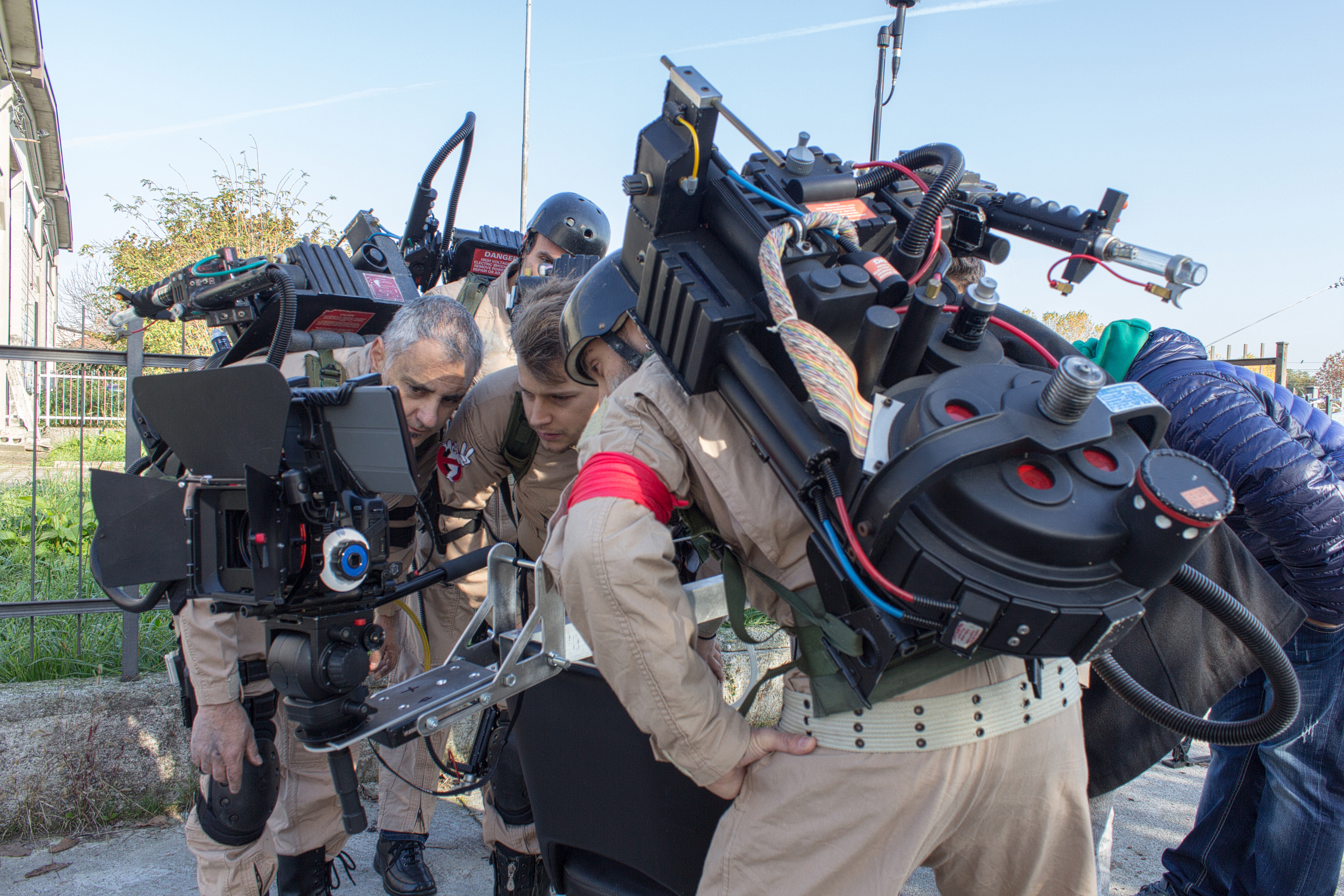 Ghostbusters Italia FanFilm Backstage