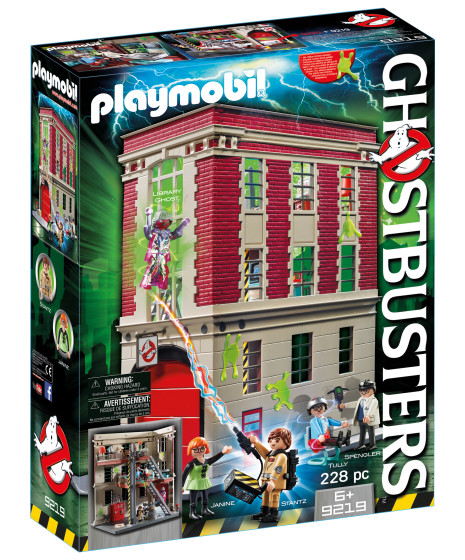 Ghostbusters Firehouse $70 - €65