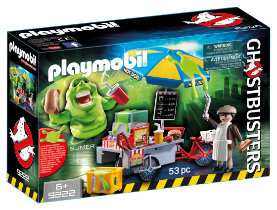 Slimer with Hot Dog Stand $18 - €17