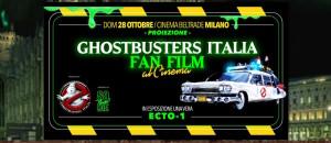 GBItalia Fan Film a Milano con ECTO-1