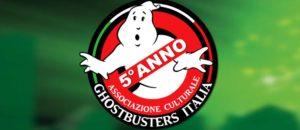 5° anniversario dell'Associazione Culturale Ghostbusters Italia