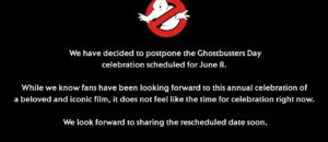 Sony/GhostCorps: Posticipato il Ghostbusters Day dell'8 giugno 2020